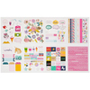 Glitter Girl Sticker & Washi Book With Folder - Shimelle
