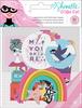 Glitter Girl Holographic Foil Ephemera - Shimelle