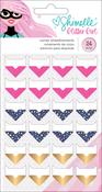 Glitter Girl Corner Embellishments - Shimelle