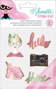 Glitter Girl Enamel Charms - Shimelle
