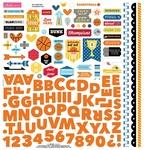 Basketball Fundamentals Sticker Sheet - Bella Blvd