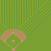 Americas Pastime Paper - Baseball - Bella Blvd