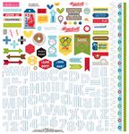 Baseball Fundamentals Sticker Sheet - Bella Blvd - PRE ORDER