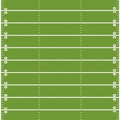 """Game Time - Football Double-Sided Cardstock 12""""X12"""""""