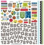 Football Fundamental Sticker Sheet - Bella Blvd