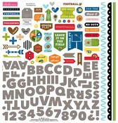 Football Fundamental Sticker Sheet - Bella Blvd - PRE ORDER