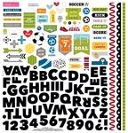 Soccer Fundamentals Sticker Sheet - Bella Blvd
