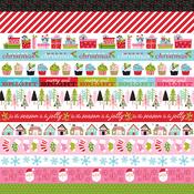 Borders Paper - Santa Stops Here - Bella Blvd - PRE ORDER