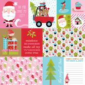Daily Details Paper - Santa Stops Here - Bella Blvd - PRE ORDER