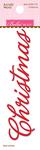 Christmas - Santa Stops Here Acrylic Word