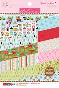 Santa Stops Here 6 x 8 Paper Pad - Bella Blvd - PRE ORDER
