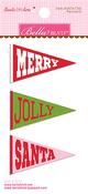 Santa Stops Here Pennants - Bella Blvd - PRE ORDER