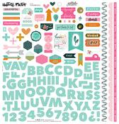 Gratitude Documented Fundamental Sticker Sheet - Illustrated Faith