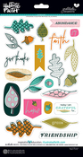 Gratitude Documented Chipboard Stickers
