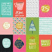 "3""X4"" Cards - Illustrated Faith Advent Gold Foiled Cardstock 12""X12"""