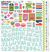 Advent Fundamental Foil Sticker Sheet - Illustrated Faith