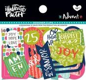 Advent Designer Clips - Illustrated Faith
