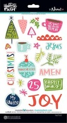 Advent Icon Chipboard Stickers - Illustrated Faith
