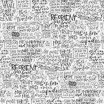 Live In His Peace Paper - Faith > Fear - Illustrated Faith