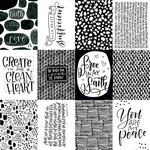 3 x 4  Paper - Faith > Fear - Illustrated Faith