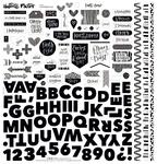 Faith > Fear Fundamental Sticker Sheet - Illustrated Faith