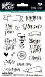 """Faith>Fear - Illustrated Faith Clear Stamps 4""""X6"""""""