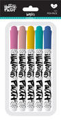 Assorted Colors, .65 Nib - Illustrated Faith Basics Precision Pens 5/Pkg