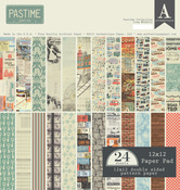 Pastime 12 x 12 Paper Pad - Authentique
