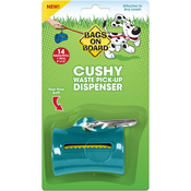 Teal - Bags On Board Cushy Dispenser W/14 Bags