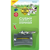 Gray - Bags On Board Cushy Dispenser W/14 Bags