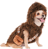 Large - Rubie's Chewbacca Hoodie Pet Costume Rubie's Pet Shop Boutique-Chewbacca Hoodie Pet Costume: Large. Give your pet some style with this fun Halloween costume! This package contains one large costume for pets measuring between 16 inches and 22 inches long. For best fit, measure your dog from the base of the neck to the base of the tail. Comes in a variety of sizes. Each sold separately. Imported.
