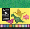 Iridescent 40 Sheets - Origami Paper Pack
