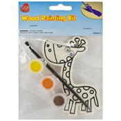 Giraffe - Wood Painting Kit