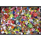 The Bulk Bag Of Plastic Beads 2lb