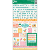 """Bowl Of Dreams Cardstock Stickers 6""""X12"""""""
