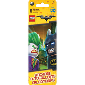 DC The Batman Movie - LEGO Flip Pack Stickers 6 Sheets
