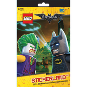 DC The Batman Movie - LEGO Stickerland Pad 4/Pages
