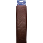"Brown - Leather Premium Trim Piece 8""X11"""