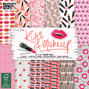 "Kiss & Make Up - Dovecraft Paper Pad 6""X6"" 72/Pkg"