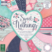 """Sweet Nothings, 16 Designs/3 Each - First Edition Premium Paper Pad 8""""X8"""" 48/Pkg"""