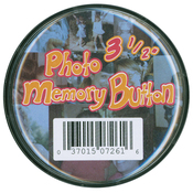 """Clear Plastic - Memory Button 3.5"""""""