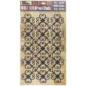 "Rosettes - 7 Gypsies Architextures Adhesive Tall Base 9""X6"""