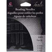 3 Each Of Sizes 10, 11 & 12 - Beading Needles 9/Pkg
