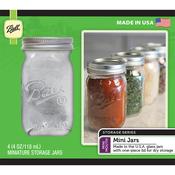 4oz - Ball (R) Mini Storage Jars 4/Pkg