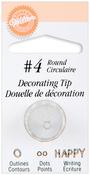 #4 Round - Decorating Tip
