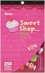 "Sweet Shop 254/Pkg - Sticker Book 9.5""X6"""