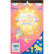 """Hello Sunshine 282/Pkg - Sticker Book 9.5""""X6"""""""