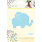 The Friendly Elephant - Sara Davies Signature Little Angel Metal Dies