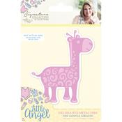 The Gentle Giraffe - Sara Davies Signature Little Angel Metal Dies