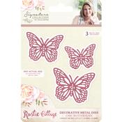 Chic Butterflies - Sara Davies Signature Rustic Cottage Metal Dies